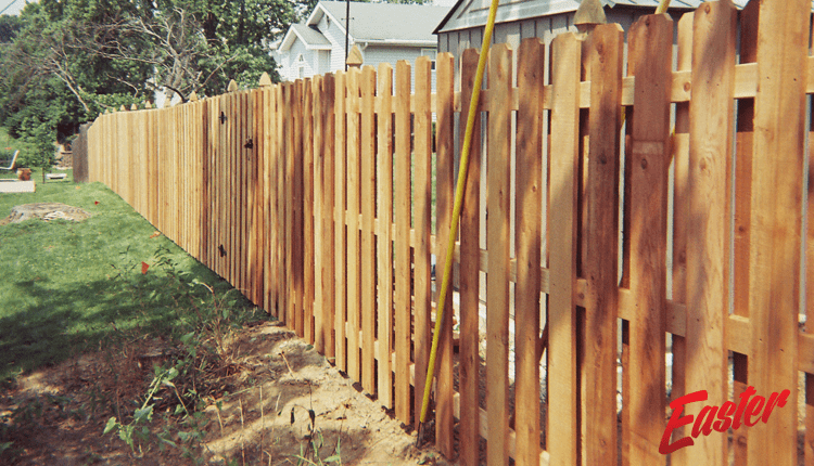 Wood Fence 4 Easter Fence St Louis