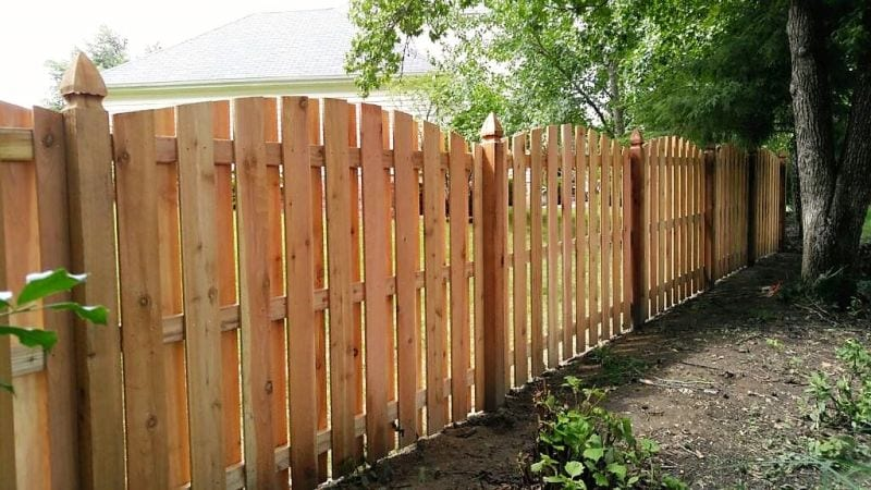Wood Fencing Easter Fence St Louis